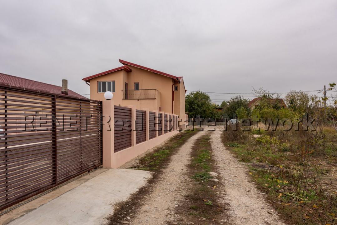 Vila individuala langa Bucuresti, utilitati, strada asfaltata, comision 0!
